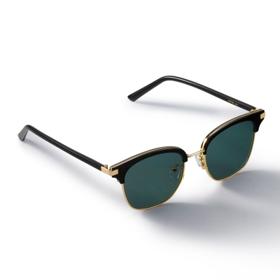 [스타착장]PORTER_Gold/Black Sunglass