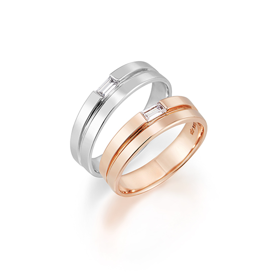 J Estina Couple Ring