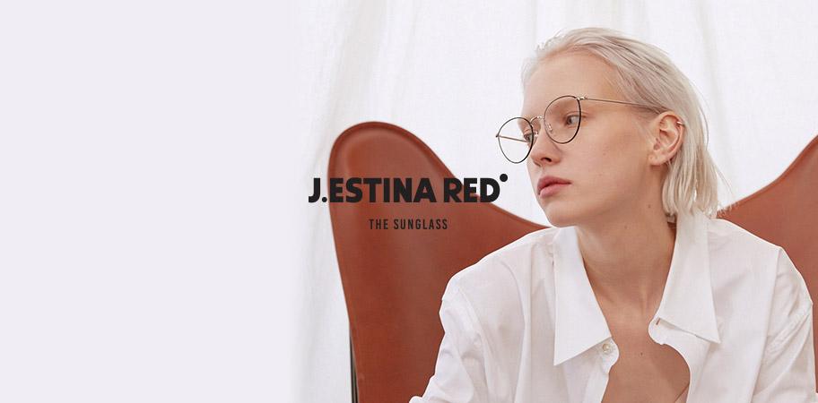 J.ESTINA RED EYEWEAR