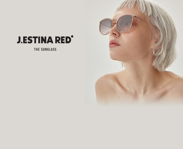 J.ESTINA RED EYEWEAR