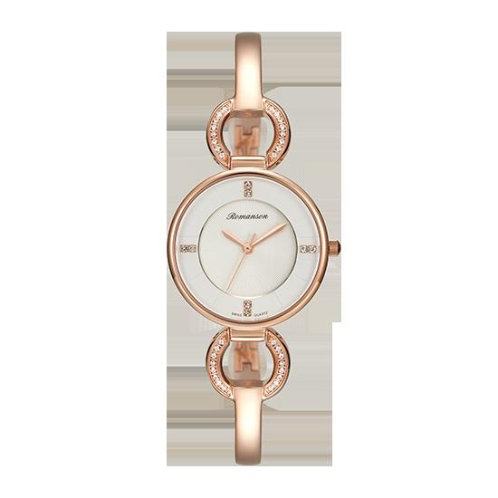 로만손 여성 메탈 시계 (RWRMQL7A0400RGWH0)