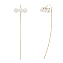 Perla Curva L'arte Earring