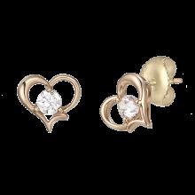 Cuore Earring(14K)