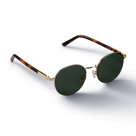 MIST_Gold/Green Sunglass