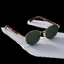 MIST_Gold/Green Sunglass