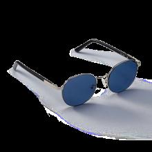 MIST_Silver/Blue Sunglass