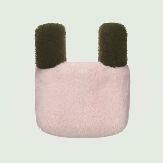 Color Block Shopper-XS_OLIVE/PINK