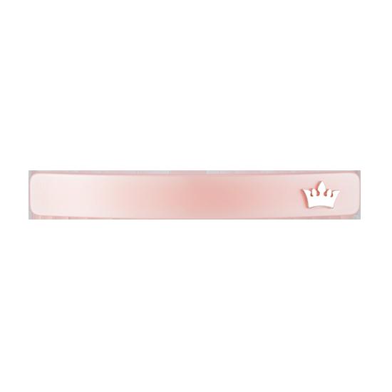 Trendy Pink Hair Pin