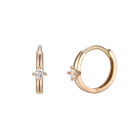 J Basic Earring(14K)