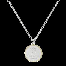 Cerchio Forma Di Lusso Necklace