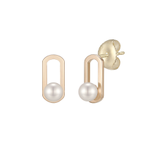 [Online Limited]Basic Perlina Earring(14K)