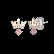 [시즌오프] Pink Noir Tiara Earring