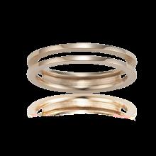 [TV속 이 상품]Mariebel Nessia Couple Ring(14K) (W)