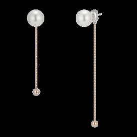 Dew Point Noir Perlina Earring