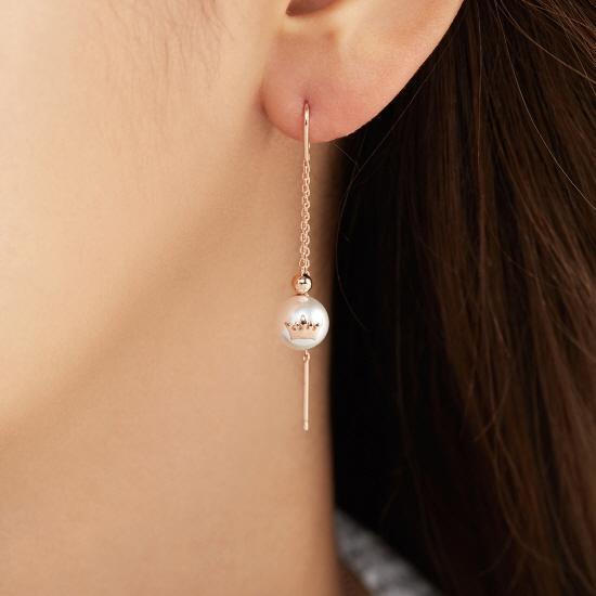 [김연아착장] Basic Tiara 귀걸이 (JJT1EI8AS054SR000)