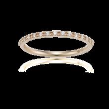Mariebel Nessia Couple Ring(14K) (W)