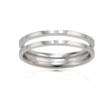 Mariebel Nessia Couple Ring(14K) (M)