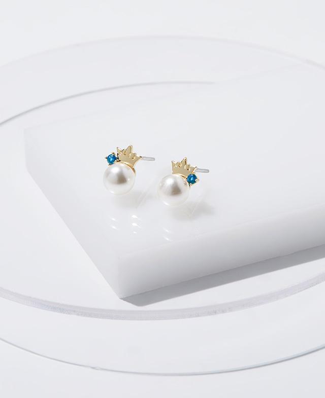 [김연아착장] Basic Tiara 귀걸이 (JJT1EI7AF402SY000)