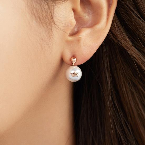 Basic Tiara 귀걸이 (JJT1EI8AS053SR000)