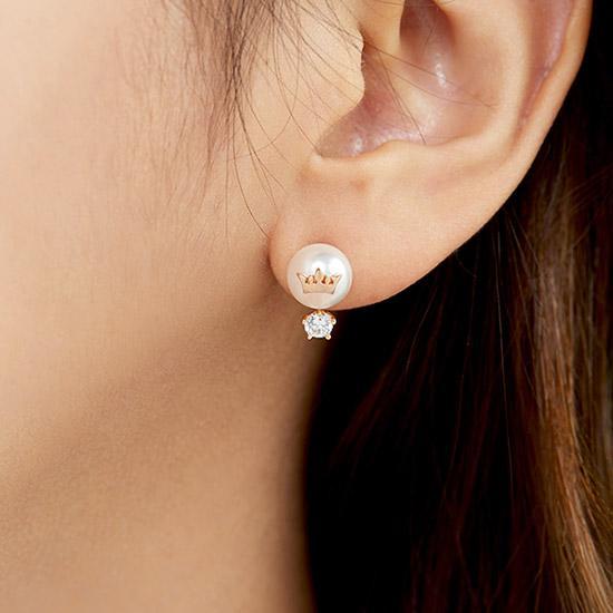 Basic Tiara 귀걸이 (JJT1EI7AF444SR000)