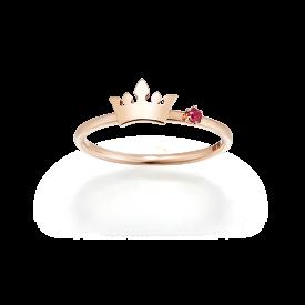 Rubino Tiara Ring