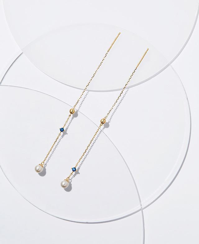 [김연아착장] Royal Blue 귀걸이 (JJPJEI7AS203SY000)