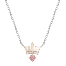 Pink Noir Tiara Necklace
