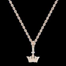 Drop Noir Tiara Necklace