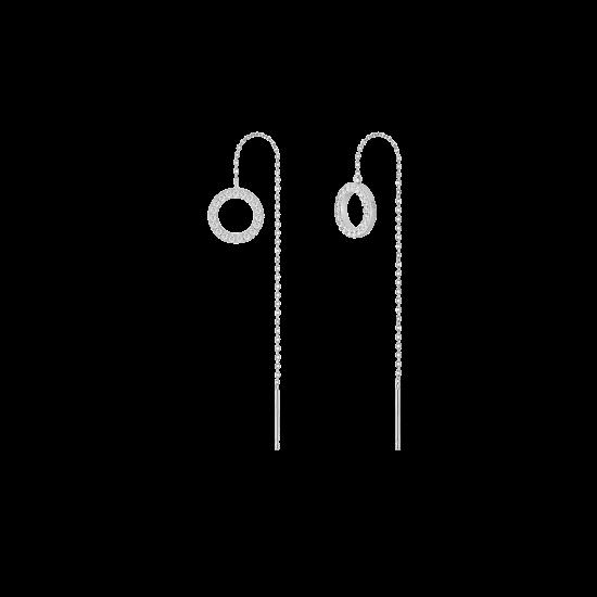 Circle Drop 귀걸이 (JJPJEQ7AS196SW000)