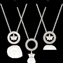 Due Tiara Necklace