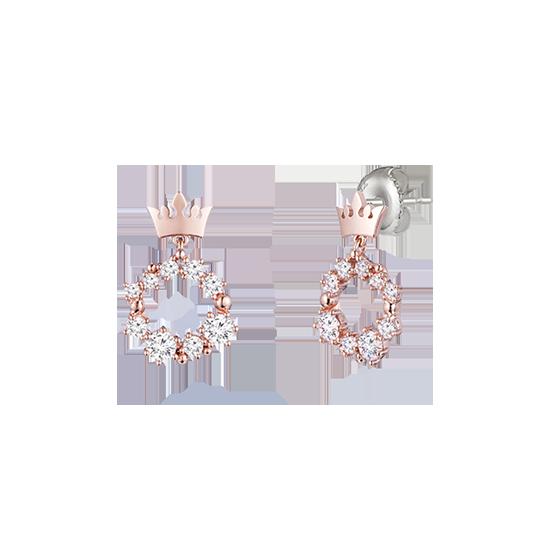 Basic Tiara 귀걸이 (JT1EQ8AS025SR000)