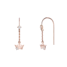 Basic Tiara Earring(14K)