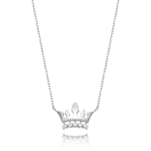 Delicate Tiara Necklace