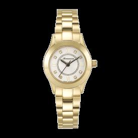 로만손 여성 게르마늄 메탈 시계 (RWRMGL8A1600GOSI0)