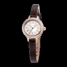 로만손 여성 가죽 시계 (RWRLQL6A3100RGCR0)