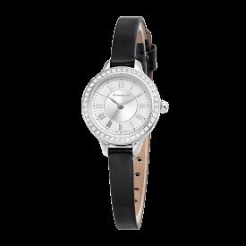 로만손 여성 가죽 시계 (RWRLQL6A3100WHSI0)