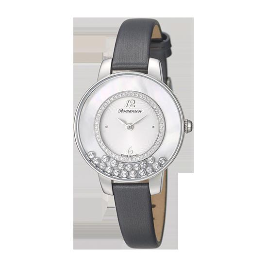 로만손 여성 가죽 시계 (RWRLQL7A3000WHWH0)