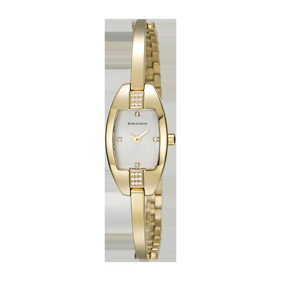 로만손 여성 메탈 시계 (RWRMQL7A0300GOWH0)