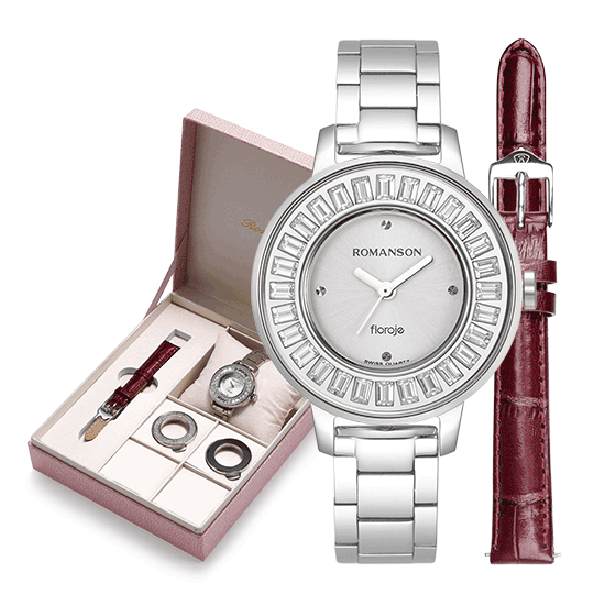 로만손 여성 DIY 시계(펀플로제)