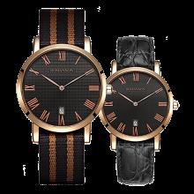 로만손 클래식 나토밴드 시계