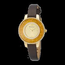로만손 여성 가죽 시계