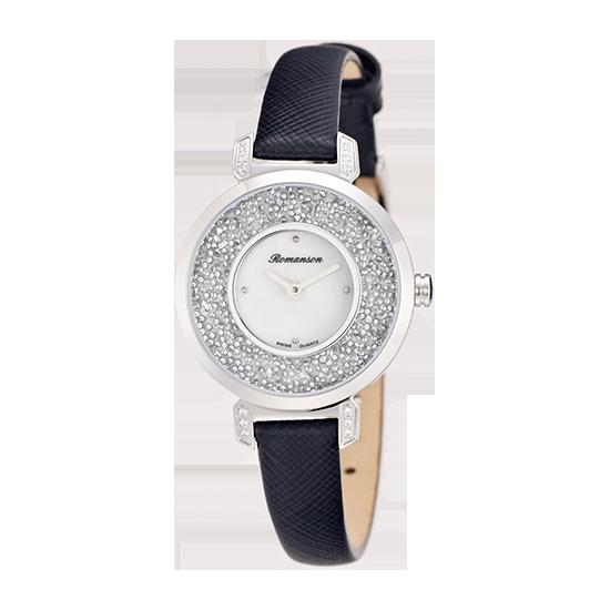 로만손 여성 가죽 시계 (RWRLQL6A3600WHWH0)