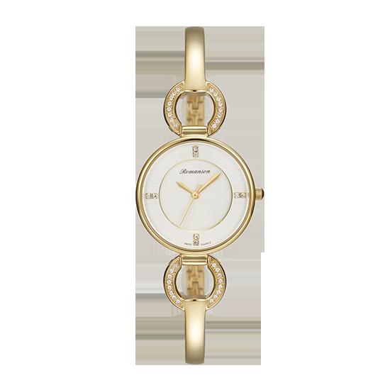로만손 여성 메탈 시계 (RWRMQL7A0400GOWH0)