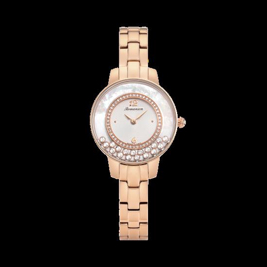 로만손 여성 메탈 시계 (RWRMQL7A3000RGWH0)