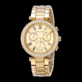 로만손 여성 크로노그래프 메탈 시계