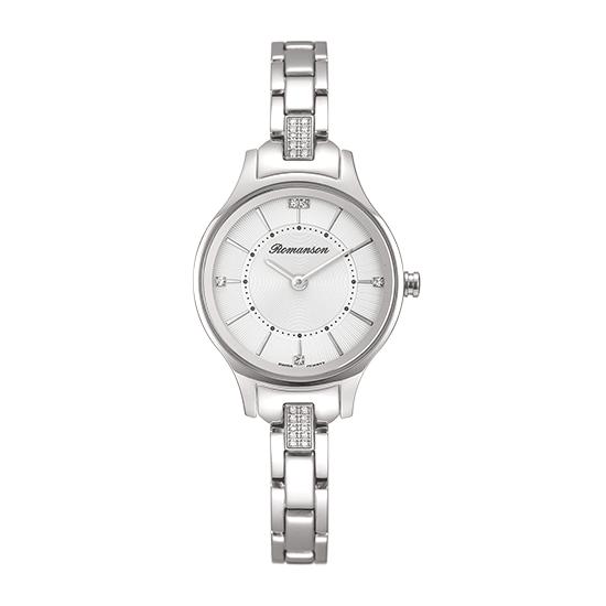 로만손 여성 메탈 시계 (RWRMQL8A0200WHSI0)