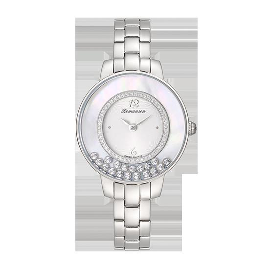 로만손 여성 메탈 시계 (RWRMQL7A3000WHWH0)