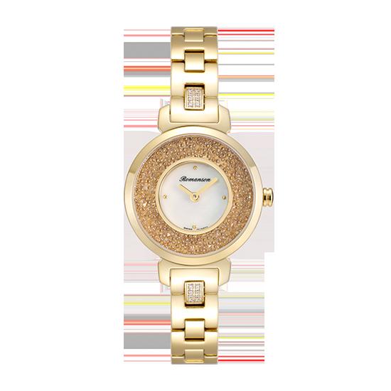 로만손 여성 메탈 시계 (RWRMQL6A3600GOWH0)
