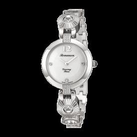 로만손 여성 댄싱스톤 메탈 시계 (RWRMQL8A0500WHWH0)