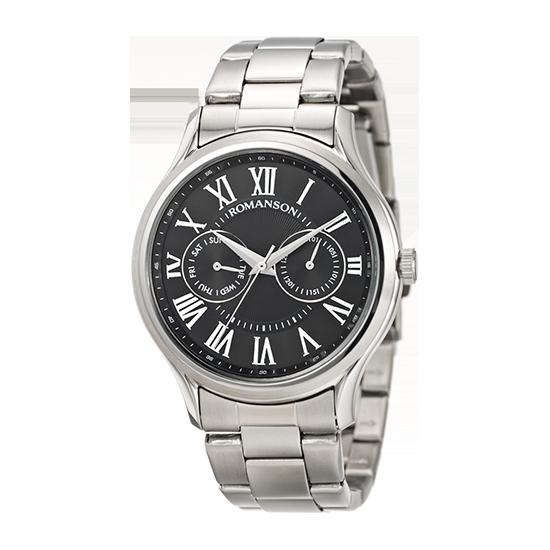 [라스트피스] 로만손 남성 메탈 시계